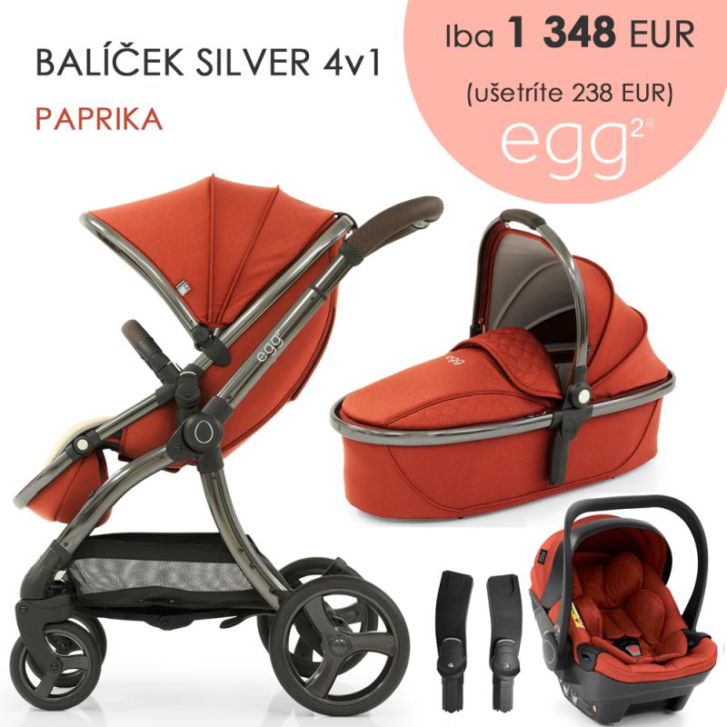 BabyStyle Egg2 set 4 v 1 - Paprika 2021