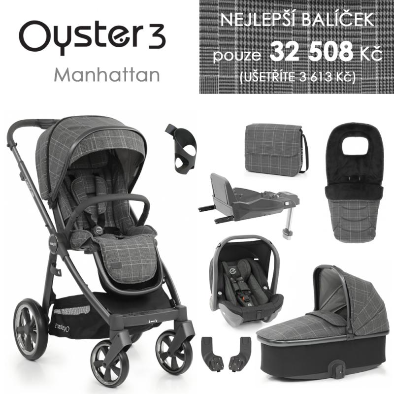 BabyStyle Oyster 3 nejlepší set 8 v 1 - Manhattan 2021
