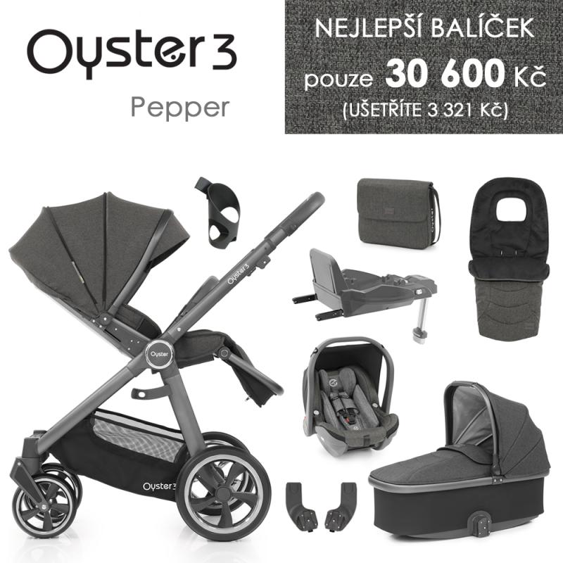 BabyStyle Oyster 3 nejlepší set 8 v 1 - Pepper 2021