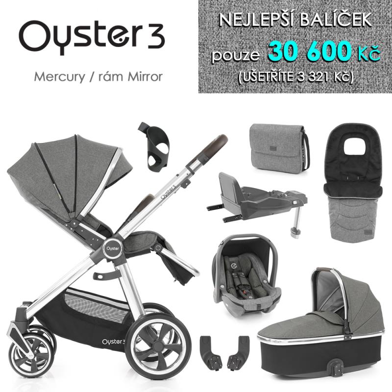 BabyStyle Oyster 3 nejlepší set 8 v 1 - Mercury / Mirror 2021