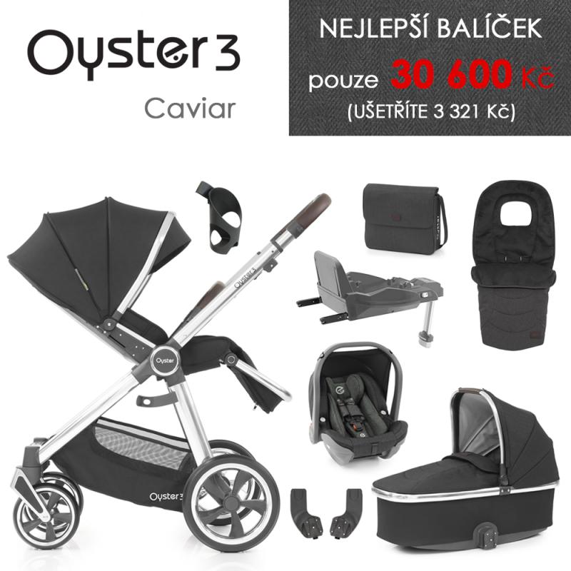 BabyStyle Oyster 3 nejlepší set 8 v 1 - Caviar 2021