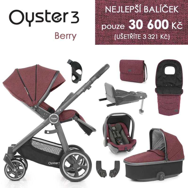 BabyStyle Oyster 3 nejlepší set 8 v 1 - Berry 2021