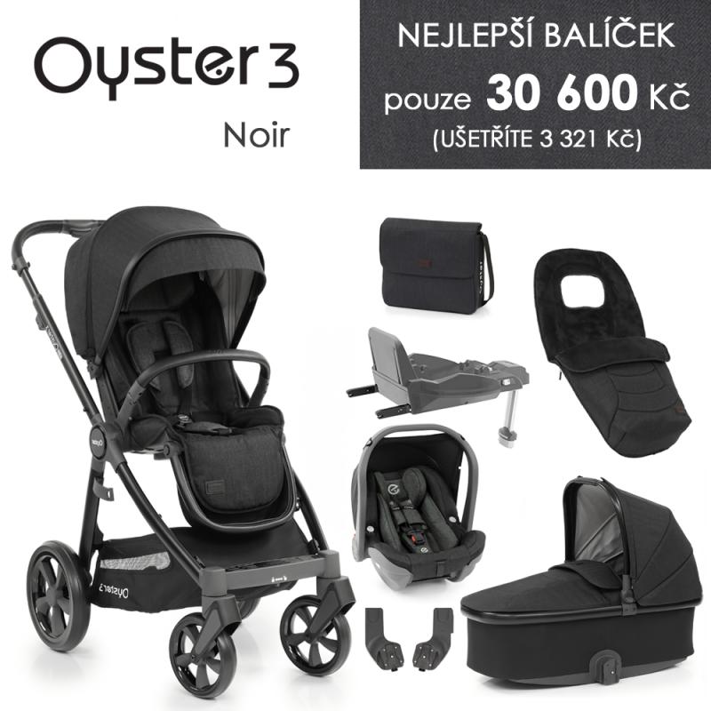 BabyStyle Oyster 3 nejlepší set 8 v 1 - Noir 2021