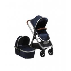 BabaBing Raffi pushchair + carrycot + adaptors, Navy Blue 2021