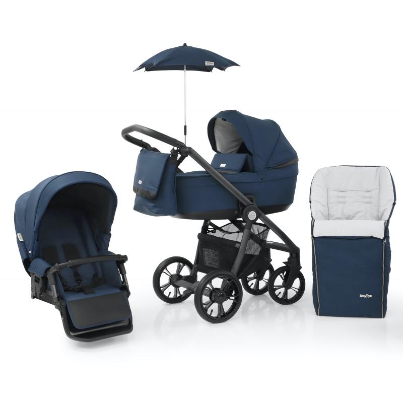 Babystyle Prestige3 Active (grey/ black) 6v1 French Navy 2021