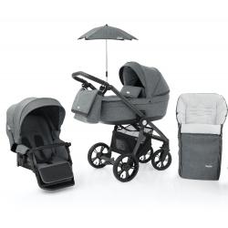 Babystyle Prestige3 Active (grey/ black) 6v1 Misty Grey 2021