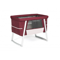 Babyhome AIR postýlka 2017, Rouge / White (Rose)
