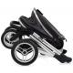 BabyStyle kočárek Oyster Max / Black rám / Navy 206