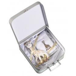 Vulli Dárkový kufřík žirafa Sophie (žirafa Sophie + froté ručník)